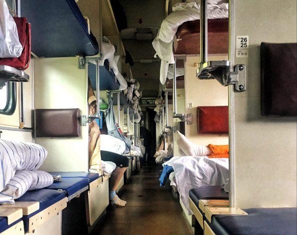 Platzkartny , 3. Klasse der Transsibirischen Eisenbahn