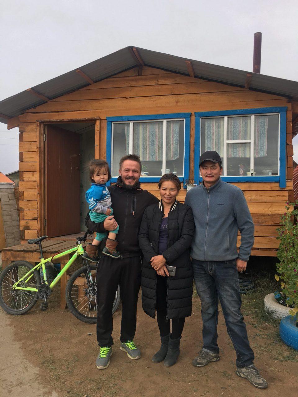 Tugsu and family