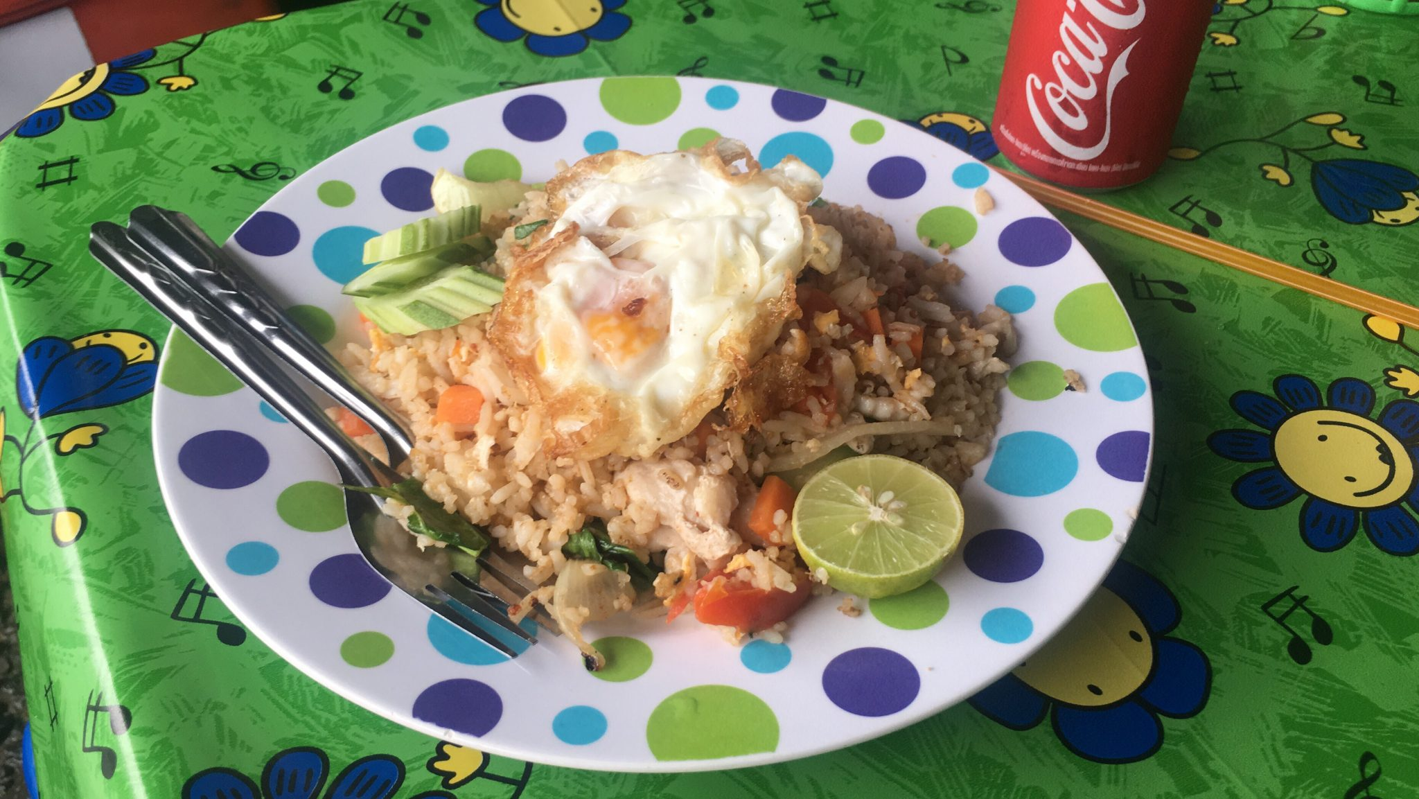 Chicken Rice with egg