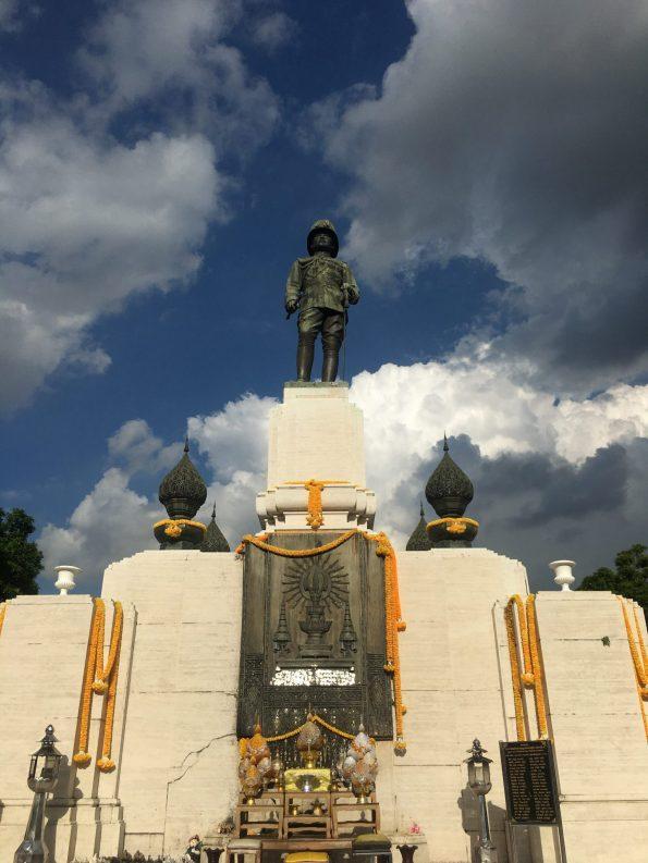 Statue Lumphini Park Bangkok