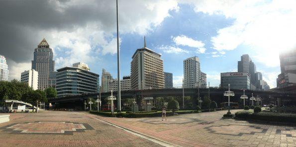 Skyline Bangkok Lumphini Park