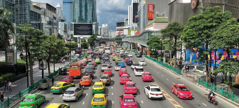 Taxis in Bangkok