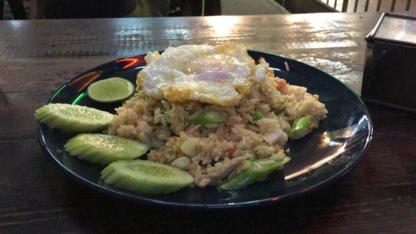 Chicken Rice egg