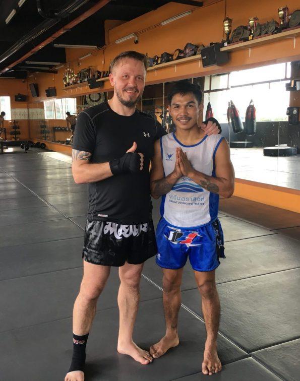 Jack vom Dragon Muay Thai Kuala Lumpur