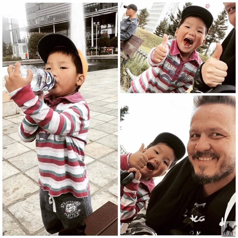Begegnung mit einem Jungen in Ulaanbaatar