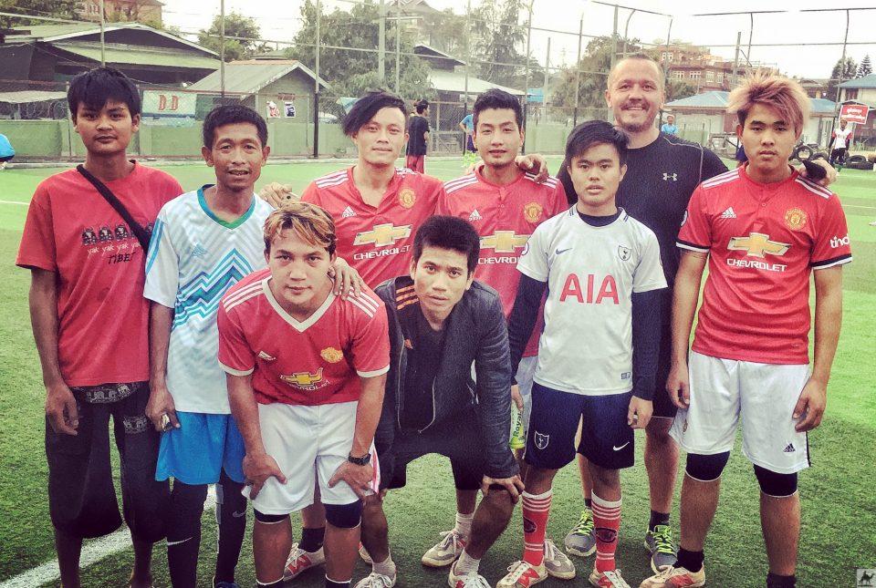 Fussball in Nyaung Shwe Myanmar