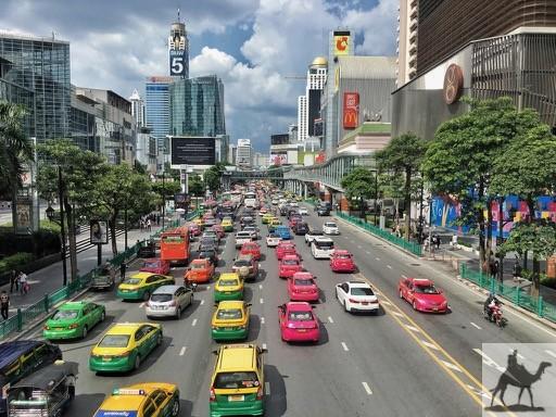 Bangkoks Taxis