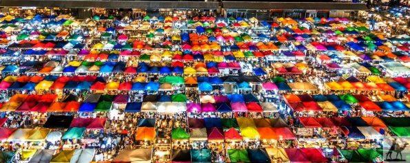 Ratchada Night Market Bangkok