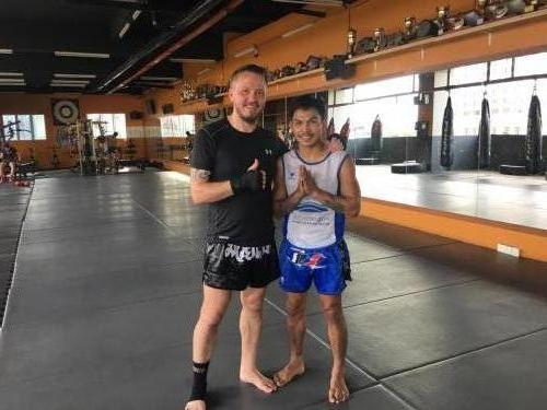 Jack von Dragin Muay Thai