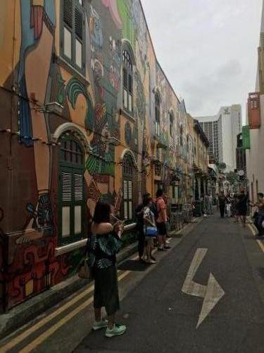 Grafiti- Kunst in der Altstadt